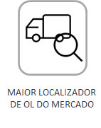 Maior localizador de OL do mercado